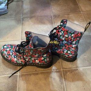 Dr. Martens Women's flower boots